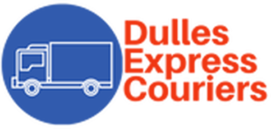dulles express couriers logo